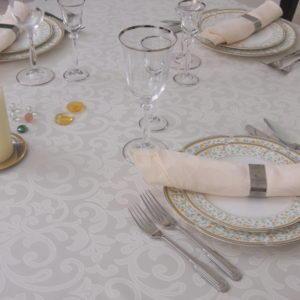 Скатерть прямоугольная Элеганс ССК-0221-11 Шампанское