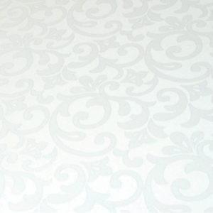 Скатерть ОВАЛЬНАЯ Элеганс ССК-0224-10 Белый
