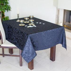 Скатерть прямоугольная Модерн ССК-0225-99 Чёрный